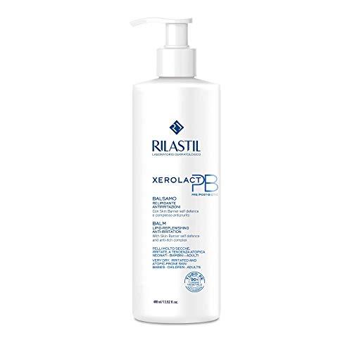 Rilastil Xerolact - Bálsamo Hidratante Anti-Irritaciones para Pieles Secas, Frágiles y Atópicas,400 Mililitros