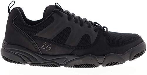 eS Herren Silo Athletic Skateschuhe, Schwarz (schwarz / schwarz), 42 EU