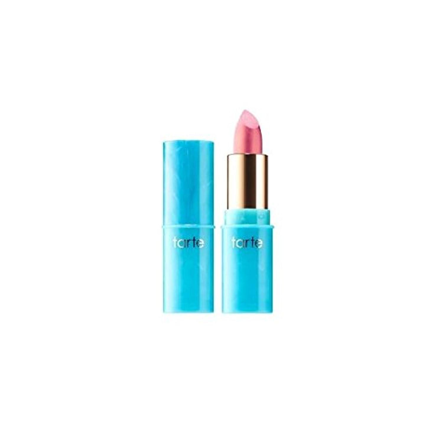 クロスウミウシ混雑tarteタルト リップ Color Splash Lipstick - Rainforest of the Sea Collection Metallic finish