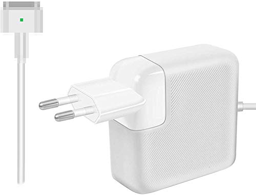 """AndMore Cargador Compatible con Mac Pro/Air 85W,Forma de T Adaptador de Corriente Funciona con los Mac 45W / 60W / 85W-13 15"""" 17"""" -Cargador para Mac Mediados"""
