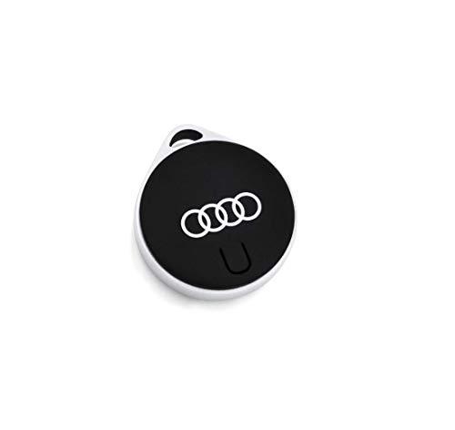 Audi collection 3181900612 Llavero de Piel para Audi Q2 Negro//Plata