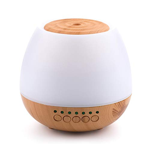 YYZLG Luftbefeuchter Weihrauch Zerstäubung Aromatherapie-Maschine Bluetooth-Lautsprecher Spray Spread Weihrauch USB Bunte Lampe stumm-lightwoodgrain