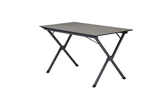 Portal Outdoor Table de Camping Pliable Hawaii Gris 120 x 70 x 70 cm