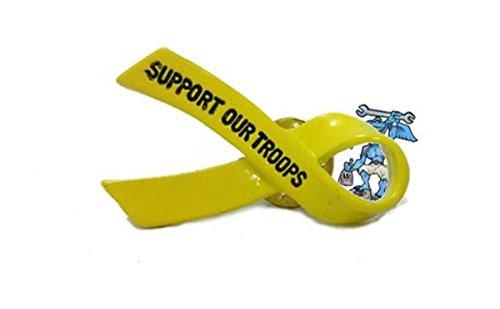 Daywalker Bikestuff Yellow Ribbon Gelbe Schleife Awareness Remember Them Soldat Bundeswehr Army Oak Tree Pin Anstecker Patch