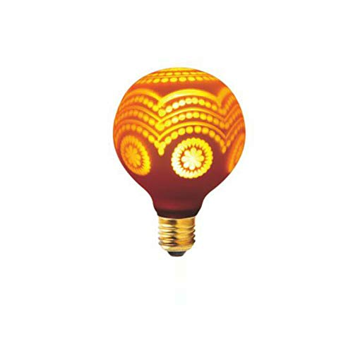 EnweLampi E27 Edison Couleur Art Ampoule 3W, Ampoule Laser, LED décoration de Mariage Le Jour de Noël Veilleuse, Paquet de 200