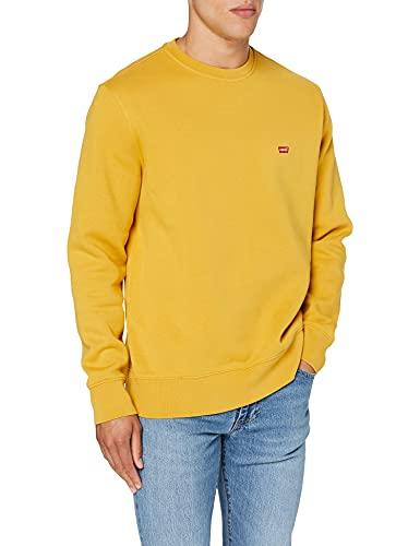 Levi s Core Ng Crew Sweatshirt Sudadera, Amarillo frío, XL para Hombre