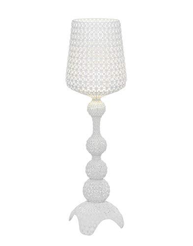 Kartell Kabuki, Lámpara de tierra con regulador de intensidad, Interior, Blanco