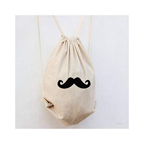 Sac à dos en forme de moustache