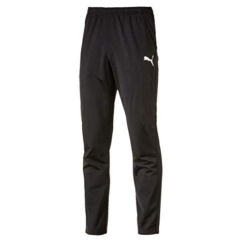 Puma Herren LIGA Training Pant Core Hose, Black White, S