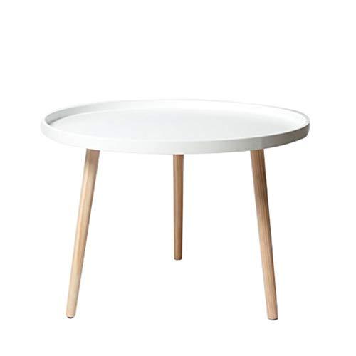 Zwart-wit Tray Table, laptop lezen party-tafel, buffet houten poten tuintafel, 2020 NIEUW