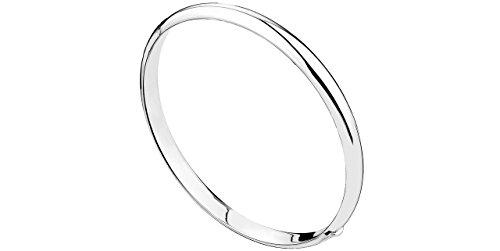 Canyon Schmuck Armband Demi Armreif aus Silber 925mit Knickgelenk, 12g, 60mm Durchmesser