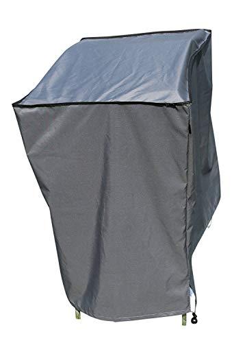 SORARA Housse de Protection Hydrofuge pour Barbecue | Gris | 98 x 68 x 88 cm