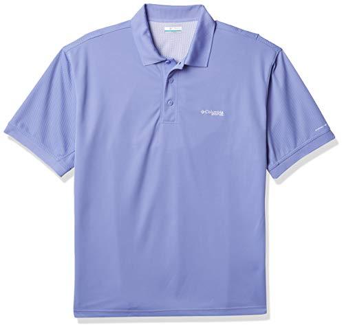 Columbia Men's PFG Bonehead Short Sleeve Fishing Shirt, 100% Cotton, Fairytale, XX-Large
