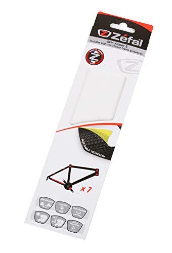Zefal Unisex– Erwachsene Shield Lite Rahmenschutz, transparent, S