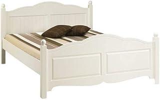 ACTUAL DIFFUSION Windsor Lit Blanc 2 Places 160 x 200, pin, 208x169x100 cm