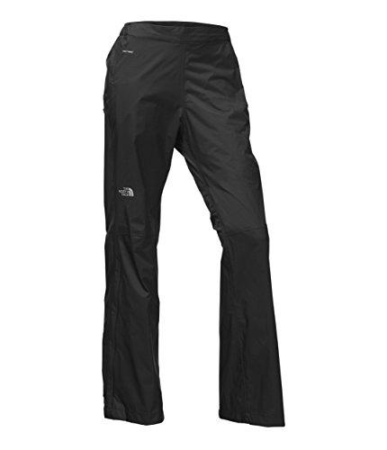 The North Face Women's Venture 2 Half-Zip DWR Hiking Pant, TNF Black, Medium Regular
