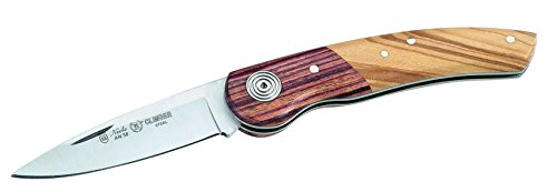 Nieto Erwachsene Taschenmesser Climber, AN.58 Stahl, Olivenholz und, Kingwood Griffschalenkombination Messer, Mehrfarbig, One Size