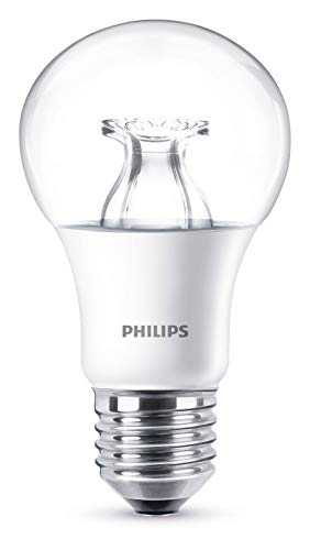 Philips Lampadina LED Warmglow Goccia E27, 8.5 W Equivalenti a 60 W, Dimmerabile