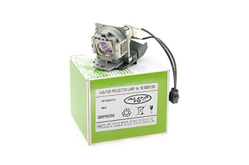 Alda PQ-Premium, Lámpara de proyector para BENQ MP511+ Proyectores, lámpara con Carcasa