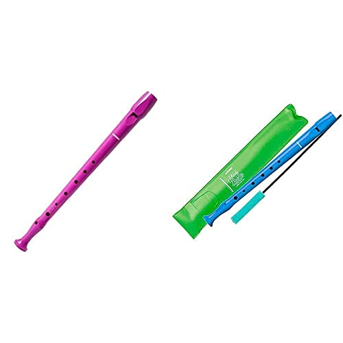 Hohner Flauta Melody Line 9508 Violenta + Flauta Melody Line B9508 Azul