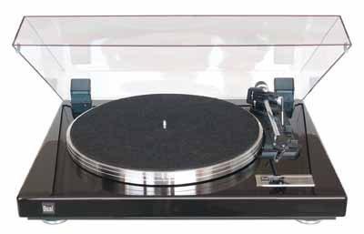 Dual CS 460 Automatik Plattenspieler (Klavierlack, Riemenantrieb, Magnet-Tonabnehmer, Sandwich-Plattenteller) schwarz