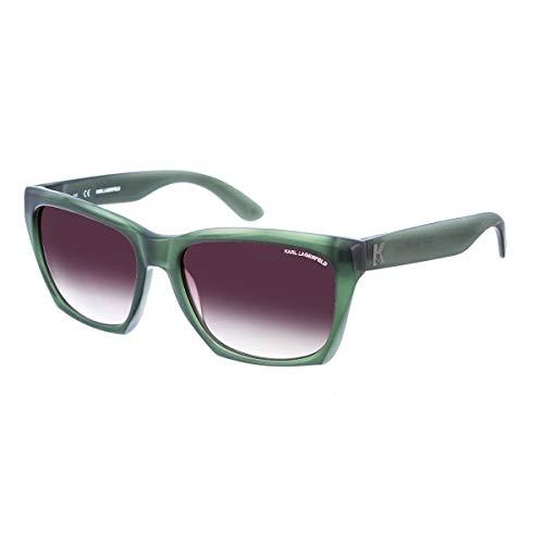Karl Lagerfeld Sonnenbrille Kl871S Gafas de sol, Verde (Grün), 56.0 para Hombre