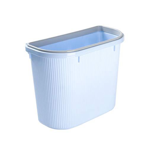 SHYPT Trash Can Hängeküchenschrank Waste Cans Kunststoff Kreative Haushalt Wand Mit deckellosen Sundries Receiving