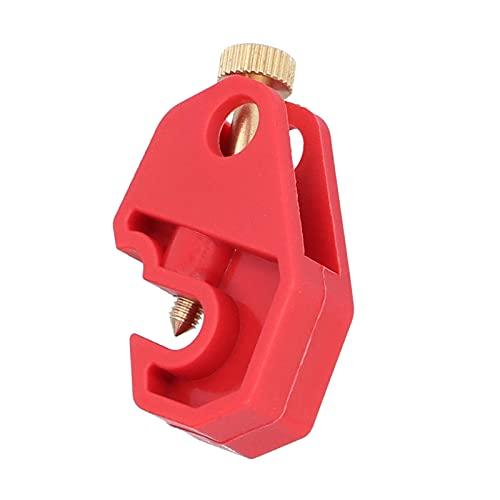 Cerradura de seguridad eléctrica, cerradura de seguridad industrial de 10 mm / 0,4 pulgadas, superficie lisa para una variedad de entornos para interruptor automático
