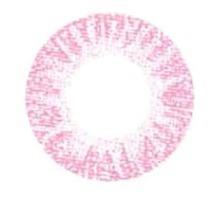 Matlens – EOS Farbige Kontaktlinsen ohne Stärke pink rosa J-101 2 Linsen 1 Kontaktlinsenbehälter 1 Pflegemittel 50ml