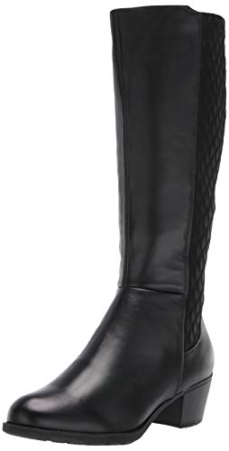 Propet Women's Talise Mid Calf Boot, Black, 10 Medium