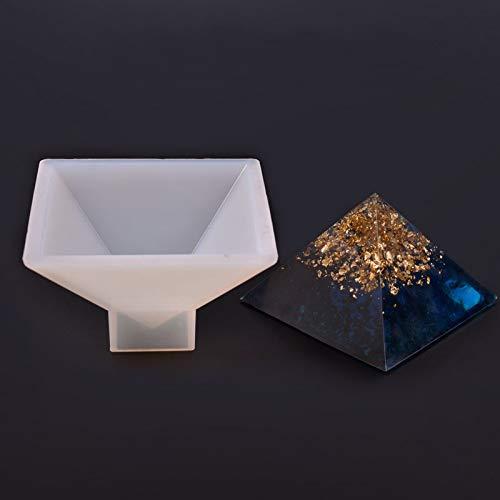 Tutoy Pyramide Silicone Moule Résine Fabrication De Bijoux Moule Époxy Ornements Artisanat Bricolage Outils