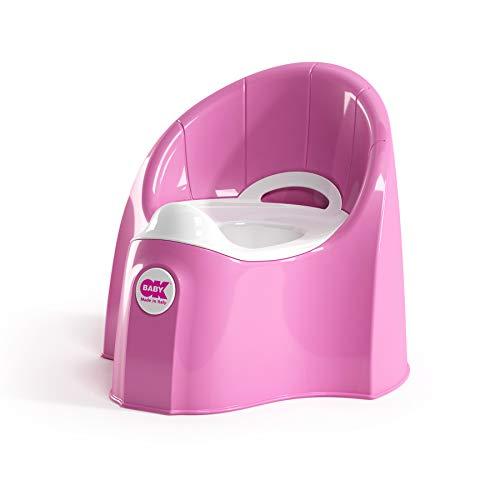 OK Baby N38916640X Pasha - das futuristische Töpfchen für entspannte Geschäfte, pink
