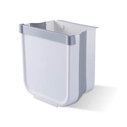 XINGYUE Papelera de cocina doble, portátil para colgar de plástico, para colgar en la pared, cubo de basura, organizador para el hogar, cocina, cesta de almacenamiento