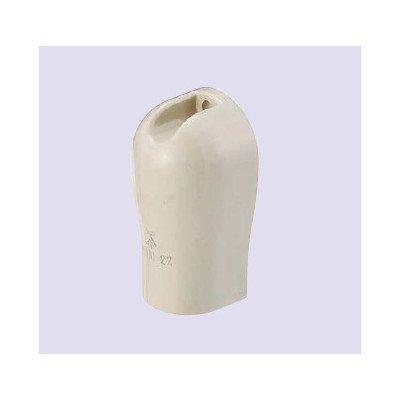 未来工業 ビニル電線管 VE管カバーエンド ミルキーホワイト VEND-16M 10個