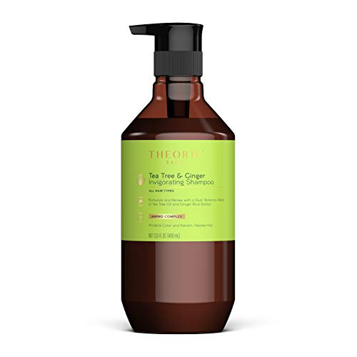 small Theory: Sage – Tea Tree and Ginger – Exhilarating Shampoo – Stimulation and Renewal – For All Hair…