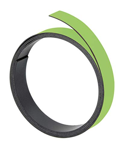 Franken M801 19 - Cinta magnética (100 x 0,5 cm, grosor: 1 mm), color verde
