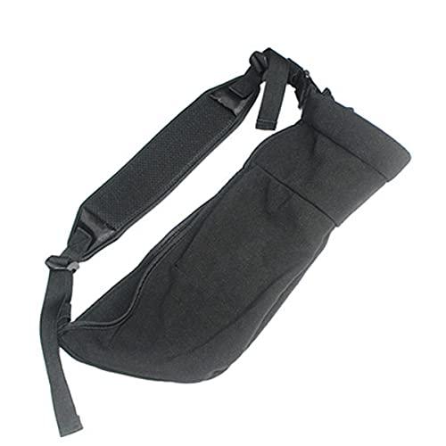 Cabestrillo brazo, soporte para brazo, cabestrillo para hombro con presilla para el pulgar, soporte para hombro ligero para brazos izquierdo y derecho, adecuado para soporte de brazo, muñeca y codo