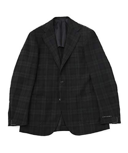 [ナノユニバース] RING JACKET リングジャケット 別注 ブラックウォッチ3B ジャケット メンズ 46 ブラック