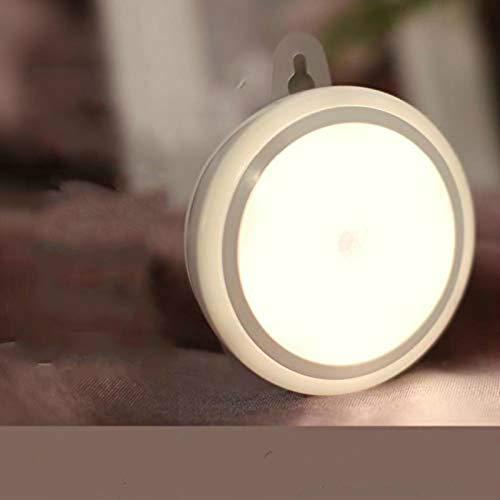 CHSYWH Luz Nocturna infrarroja, luz de Pared de Ahorro de energía con Control inalámbrico con Sensor de Movimiento, luz Nocturna LED con Sensor de luz Nocturna