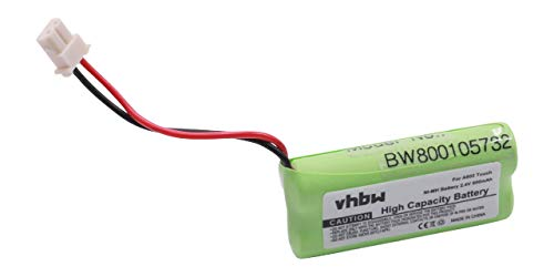 vhbw NiMH Akku 800mAh (2.4V) für Babyphone Babyfone Babytalker Audioline Baby Care 7 wie VTECH73C02.