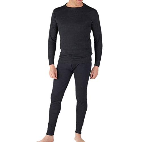 Socks Uwear Mens Winter Long Sleeved Thermal Underwear Set