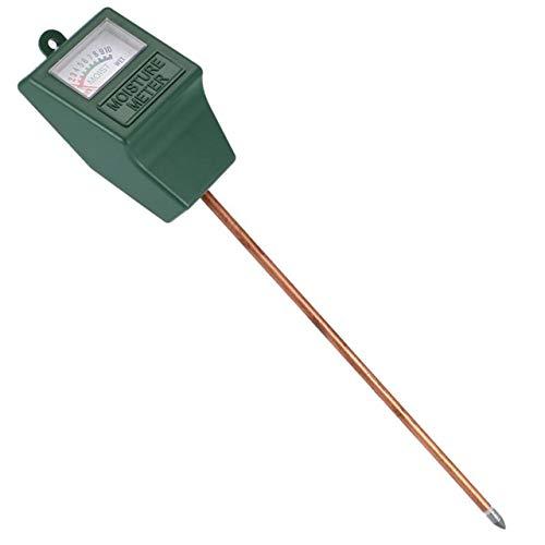 Easyeeasy Medidor de humedad del suelo, higrómetro, medidor de agua para plantas, medidor de humedad para plantas en macetas, céspedes, plantas suculentas (no se requieren baterías)