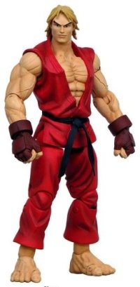 Street Fighter Round 2 Ken Action Figure Red Version Buy
