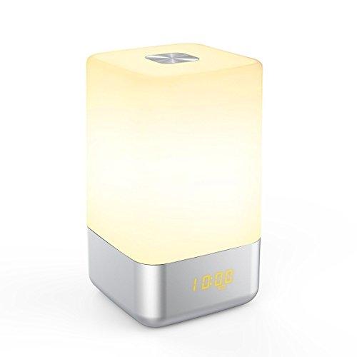 Despertador Luz Natural  marca MUXAN