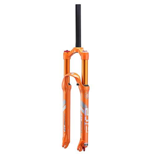 VHHV MTB Horquilla Delantera 26' 27.5' Horquillas de Suspensión Accesorios 44mm Bicicleta Juego de Dirección Naranja (Color : A, Size : 27.5 Inches)