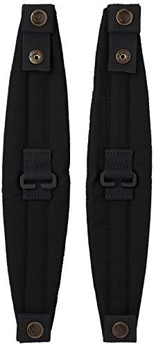 FJÄLLRÄVEN Kånken Shoulder Pads Riemen, 32 cm, Black