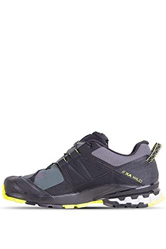 Salomon Men's XA Wild GTX Trail Running, Urban Chic/Black/Evening Primrose, 9