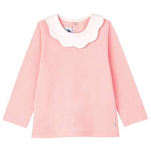 Petit Bateau - Blusa de Manga Larga para bebé niña Minois 18 Meses