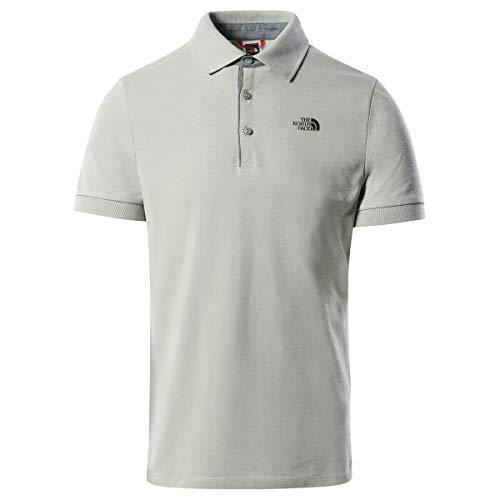 The North Face Men's Premium Polo Piquet Camiseta Hombre W. Iron XXL