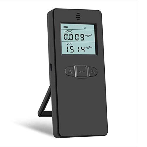 LILIS Carbon Monoxide Meter Luftqualitätsmonitor Formaldehyd HCHO-Detektor TVOCMUlfunktionelle Innenraum-Luftqualitätsmesser-Monitor mit bunter LCD-Bildschirm und Halterung
